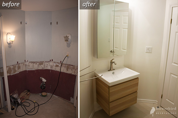 Before and after attic renovation toronto - Bathroom Renovation Toronto Clean Spacious Beautiful