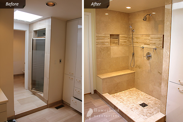 Master Bathroom Renovation Toronto Before And After Pictures Renovations Contractor