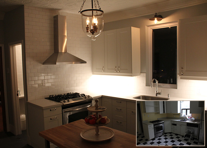 Before and after attic renovation toronto - Kitchen Renovation In Toronto Kitchen Renovations By