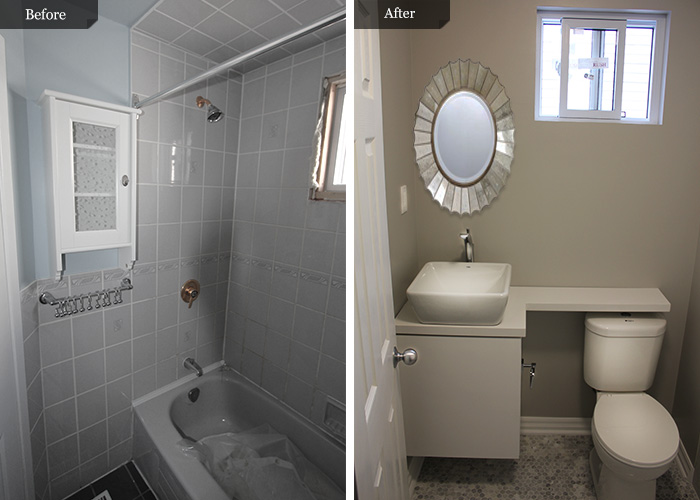Bathroom Remodel Pics Before After