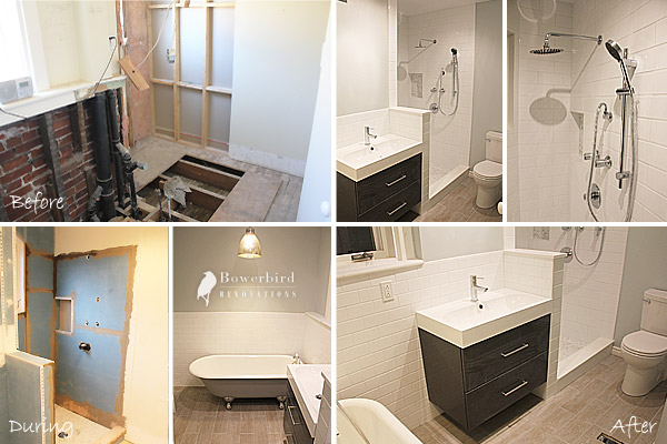 Bowerbird Renovations A Bathroom Renovation Project In Down Town Toronto