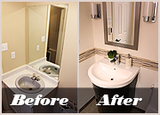 Before and After renovations toronto