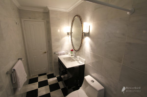 Luxury bathroom renovation marble in Richmond Hill